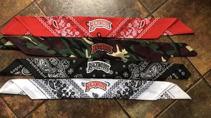 Backwoods bandannas 25$ each for Sale in National City, CA