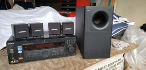 Bose Acoustimas speakers with Sony receiver for Sale in City of Industry, CA