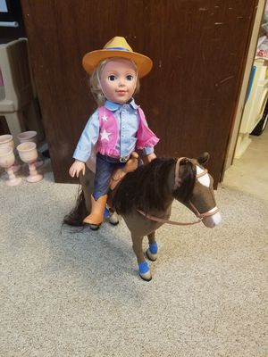 Doll and horse for Sale in Wrightsville, PA