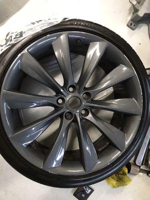 2 Tesla model S 21in turbine wheels OEM for Sale in Seattle, WA