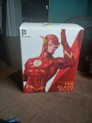 DC Collectables Flash Bust Statue for Sale in Chicago, IL
