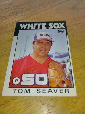 TOM SEAVER 1986 TOPPS #390 WHITESOX for Sale in New York, NY