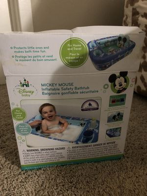 Inflatable baby travel bath for Sale in Alexandria, VA