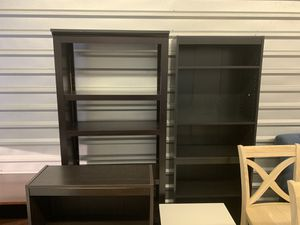 Tall bookshelves minor scrapes for Sale in Augusta, GA