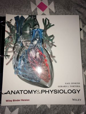 Anatomy & Physiology Wiley Binder Version Textbook for Sale in Mansfield, PA