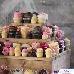 Handmade Wedding Cupcake Stand for Sale in Raleigh, NC