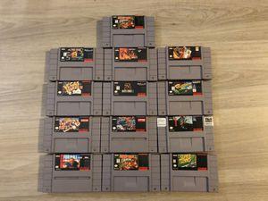 Super Nintendo games! for Sale in Long Beach, CA