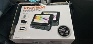 Sylvania dual dvd movie player not have the remote remote ,work in a great condition for Sale in Casselberry, FL