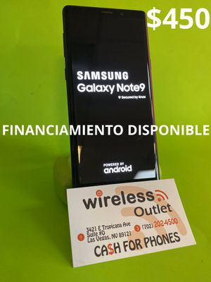 SAMSUNG NOTE 9 UNLOCKED!!! FINANCING AVAILABLE!!! for Sale in Las Vegas, NV