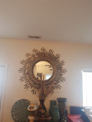 Large Sunburst Mirror for Sale in Raleigh, NC