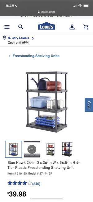 Shelving unit for Sale in Morrisville, NC
