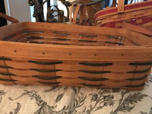 Longaberger pantry basket for Sale in San Antonio, TX