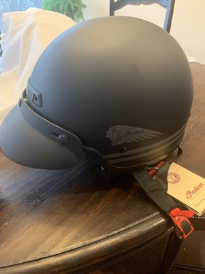 Indian Highway motorcycle Half-Helmet - XL for Sale in Frisco, TX