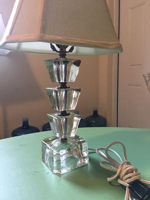 Vintage Glass Lamp for Sale in Palm Beach Gardens, FL