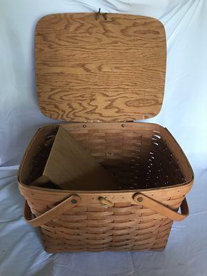 Longaberger picnic basket for Sale in Columbus, OH