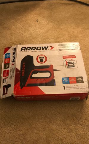 Arrow professional electric stapler and nailer for Sale in Brentwood, TN