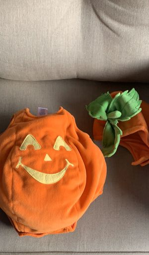 Used pumpkin costume for Sale in Los Angeles, CA