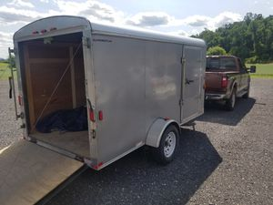6x12 Enclosed trailer for Sale in Thompsontown, PA