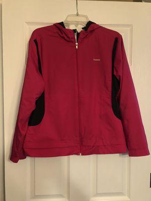 Reebok hoodie jacket size L for Sale in Oakwood, GA