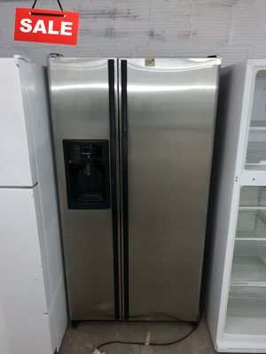 🚀🚀🚀Stainless Steel Refrigerator Fridge GE 33in #1355🚀🚀🚀 for Sale in Annapolis Junction, MD