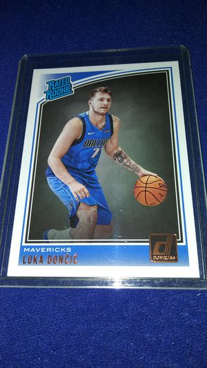 Luka doncic rookie card Donruss rated rookie for Sale in Garland, TX