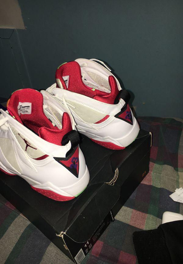 """Jordan 7 """"hare"""" size 11.5"""