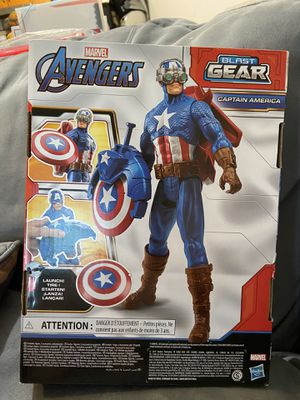 Captain America Avengers blast gear for Sale in Daly City, CA