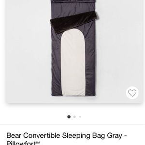 Bear Convertible Sleeping bag for Sale in Downey, CA