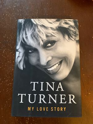 TINA TURNER autographed my love story, musical diva life autobiography for Sale in Lawndale, CA