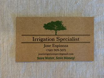 Irrigation And Landscape for Sale in Vista,  CA