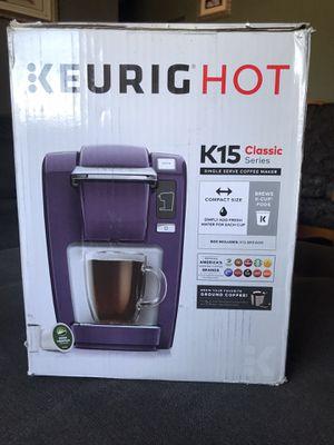 Keurig Hot K15 Coffee Maker for Sale in Bloomington, CA