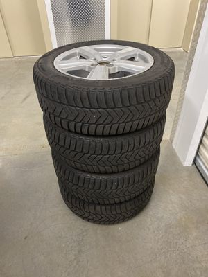 Pirelli Winter Performance Snow Tires + Rims (for Audis, Volkswagens, BMWs, Mercedes Benz and more) for Sale in Kirkland, WA