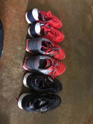 Men's sneakers size 13-Saucony, Reebok, Brooks for Sale in Houston, TX