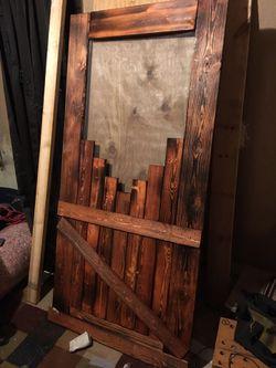 Hand made and screen door for Sale in Douglass,  KS