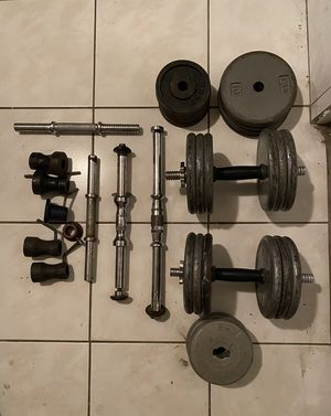Dumbbell Set - Over 180lbs for Sale in Los Angeles, CA