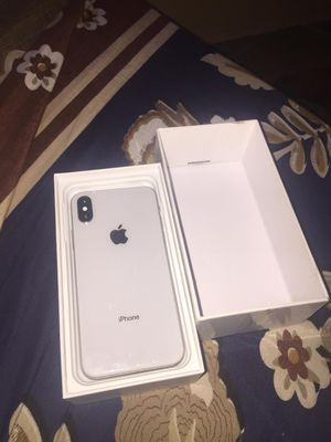 White iPhone x for Sale in Elizabeth, CO