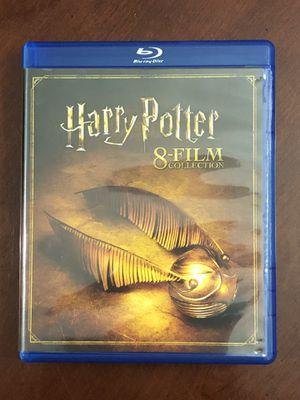 Harry Potter 8 Film BLU-RAY Set for Sale in Alexandria, VA