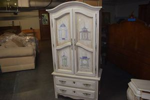 Beautiful bedroom set including headboard, armoire And two nightstands. Excellent condition! for Sale in Los Angeles, CA