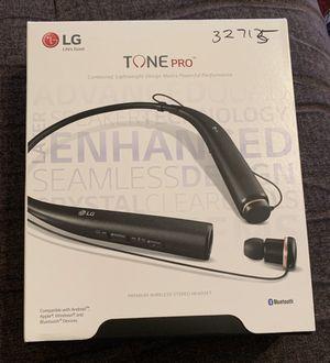 Lg Tone Pro Black (Bluetooth Headset) for Sale in Savannah, GA