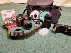 Nikon D3200 camera outfit for Sale in Orlando, FL