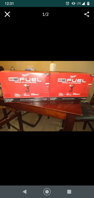 milwaukee cordless impact wrench 1/2 inch for Sale in Phoenix, AZ