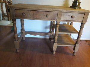 Antique maple desk-great 4 shabby chic for Sale in Scottsdale, AZ