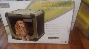 Folding soft dog cage for Sale in MIDDLEBRG HTS, OH