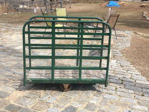 Antique trunk cart for Sale in Wayland, MA
