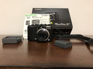 Used Canon PowerShot G7, 10 Megapixel, 6x Optical/4X Digital Zoom, Digital Xamera for Sale in St. Louis, MO