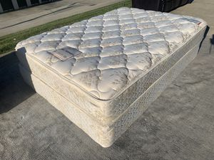 Full Size Mattress And Box spring for Sale in Morrisville, NC