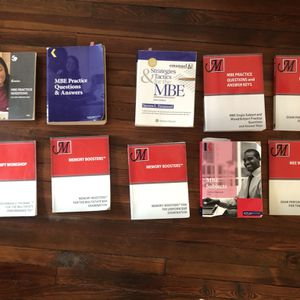 Assorted NJ Bar Exam Prep Books for Sale in Collingswood, NJ