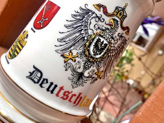 Vintage Authentic German States Beer Stein for Sale in Hialeah,  FL