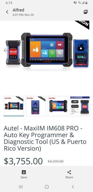 Autel Key Programming Diagnostic Tool for Sale in Carrollton, TX