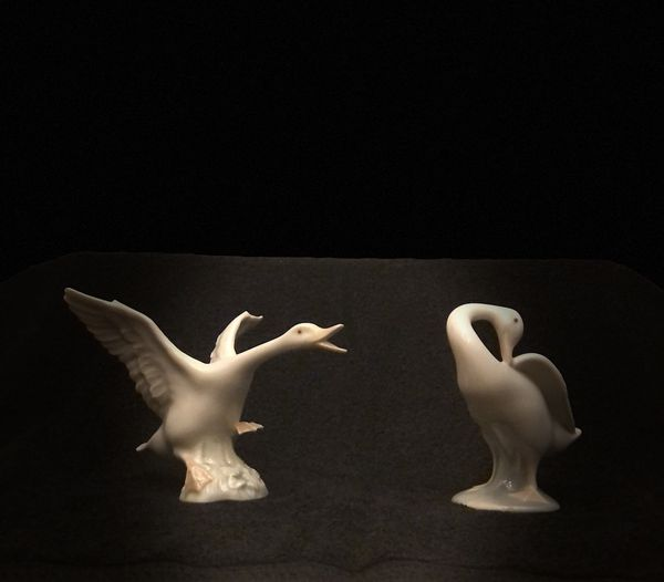 "LLADRO ""DUCK JUMPING"" #1265 & ""LITTLE DUCK"" #4553"